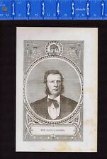 HON. DAVID SANDERS GOODING-Indiana Judge 1876 Wood Engraved Print