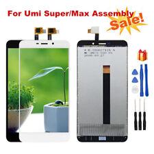 Per Umi SUPER/MAX DISPLAY LCD + Touch Screen Digitalizzatore Montaggio Con Strumenti di Riparazione