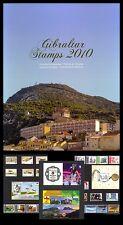 Gibraltar 2010   jaarcollectie  luxe   postfris/mnh