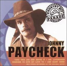 Country Hit Parade by Johnny Paycheck (CD, 2006, Direct Source)