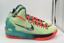 new products a0804 ddcfa Nike KD V (5) All Star Area 72 Size 10.5 VNDS Lime Obsidian Total