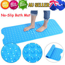 Extra Long Non Slip Anti-Bacterial Bath Pad Rubber Suction Bathroom Shower Mat