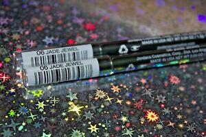 2X Jordana 12 HR Made To Last Liquid Eyeliner Pencil-ME-06 Jade Jewel + GIFT