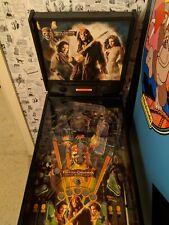 3/4 Pirates of the caribbean pinball machine Rare !