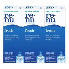 BAUSCH & LOMB Renu Fresh Multi Purposed Solution 335ml X 3