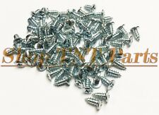 "#8 - 18 x 3/8"" GM Trim Screws Special Molding Reveal Chrome Window Felt"