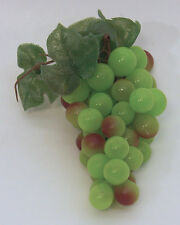 Designer One Artificial Faux Fake Cluster Green Grapes with Hanger Fruit