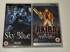 Akira and Sky Blue Anime UMD PSP UK Release FREE SHIPPING WORLDWIDE!