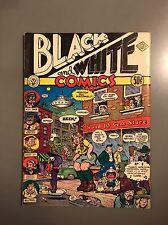 ROBERT CRUMB Black and White Comics 1973 VF+ 1st Ed UNDERGROUND COMIC