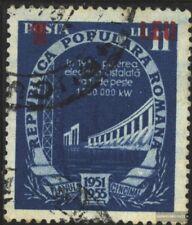 Rumanía 1361Y usado 1952 plan quinquenal
