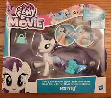 My Little Pony the Movie Rarity Land & Sea Fashion Styles Sea Pony NEW