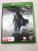 Shadow of Mordor - Middle Earth - Xbox One - Lord of the Rings - Used