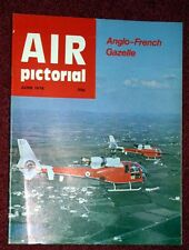 Air Pictorial 1978 June Gazelle,SEAC Liberator,Cardiff,Blackburn B2