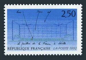 France 2272,MNH.Mi 2882. EXPO-1992,Seville.French Paviloon..