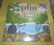 2 L.P.+CD - PFM- VINILE ORANGE AUTOGRAFATO - EMOTIONAL TATTOOS