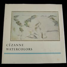 PAUL CEZANNE WATERCOLORS 1967 Exhibition Pasadena Art Museum by J. Coplans RARE