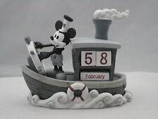 Disney Showcase Mickey Mouse Perpetual Calendar  By Precious Moments NIB