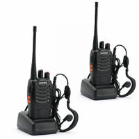2x Baofeng/Pofung BF-888S UHF 400-470MHz 5W Two-way Radio Amateur Talkie Walkie
