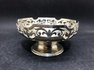 Hallmarked Silver Pierced Bon Bon Dish JW Benson (Y2 378)