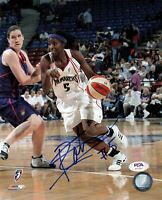 Scholonda Robinson Signed 8x10 photo WNBA PSA/DNA Autographed Sacramento Monarch