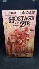 The Hostage of Zir, Book 3: L. Sprague de Camp, Ace Books,1982, Paperback. E-95
