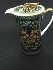 VERSACE by ROSENTHAL Miniature Coffee Pot  Gold Ivy