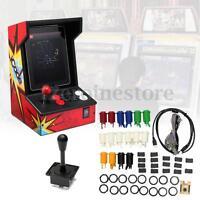 2 Players Arcade MAME DIY Kit  2 Joystick 4/8 Way 16 Push Buttons 60 in 1