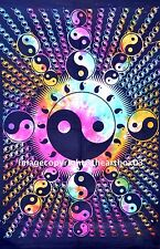 Indian Yin Yang Cotton Table Cover Cover Cotton Wall Hanging Ethnic Decor Home