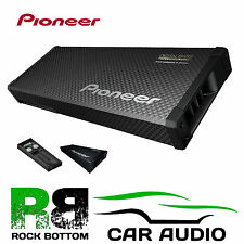 PIONEER 200W 2 x 16cm Flat Slim Amplified Active Car Bass Box Sub TS-WX70DA