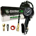 Rhino USA Tire Inflator with Pressure Gauge (0-100 PSI) - ANSI B40.1 Accurate <br/> ⭐⭐⭐⭐⭐ LIFETIME WARRANTY FROM US ONLY ⭐⭐⭐⭐⭐