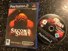 PLAYSTATION 2 PS2 GAME SECOND SIGHT +BOX PAL FORMAT