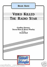 Video killed the radio star-brass band music score et pièces * nouveau * LM400