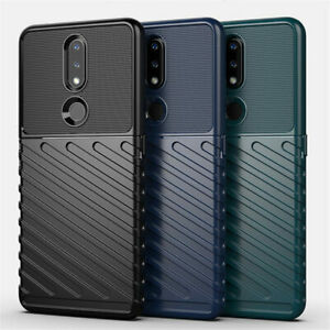 For Nokia 2.4/3.4/8.3/5.3 Shockproof Armor Flexible TPU Rubber Rugged Cover Case