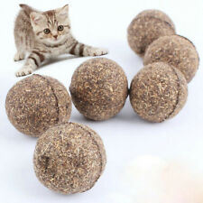 1PC Pet Cat Chew Toys Natural Catnip Healthy Treats Ball For Cats Kitten Novelty