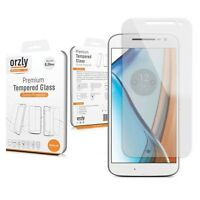 Orzly 0.24mm Premium Tempered Glass Screen Protector For LENOVO MOTOROLA MOTO G4