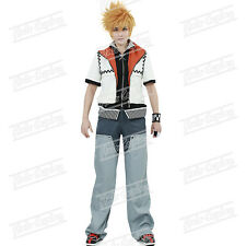 New Anime Kingdom Hearts Roxas Cosplay Costume Halloween Christmas Uniform