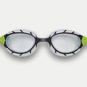 Zoggs Swimming Goggles - Predator S/M -  Clear/Black/Lime