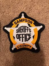 Sampson NC Sheriffs Department Collectible Police Patch