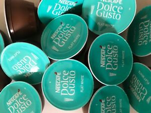 Nescafe Dolce Gusto Flat White Coffee Pods 20,40,60,80,100