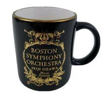 New listing Boston Symphony Orchestra Seiji Ozawa Music Director Coffee Mug Cup Ceramic