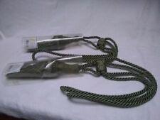 Tassel Curtain Tie Backs,Dark Green.