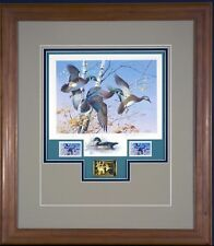 """VERMONT DUCK STAMP PRINT """"FIRST OF STATE"""" (1986) RARE EXECUTIVE EDITION REMARQUE"""