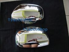 FOR NEW TOYOTA HIACE COMMUTER 2008-2013 VAN CHROME LEFT+RIGHT MIRROR COVER TRIM