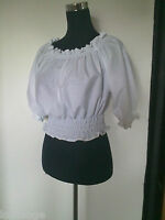 Peasant/Gypsy/Pirate/Steam punk/50's Blouse all sizes and colours