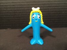 "Vintage Goo Blue Girl Friend 2.5"" Pvc Rubber Action Figure Prema Toy Trendmaster"