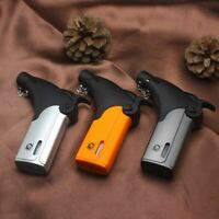Turbo Torch Jet Lighter Cigar Cigarette Windproof Flame Refillable Gas Lighters