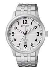 Citizen Mens Quartz Watch. Date Display & 50m WR.Classic and Elegant. BI1050-81B