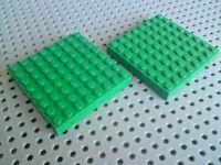 Lego Brick 8x8 [4201] Green x2