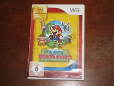 Super Paper Mario (Nintendo Wii) - German PAL Version - Game & Box XLNT Cond.