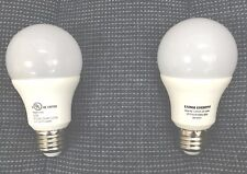 2 LED Bulbs 9w=60W  4000K Natural White  Soft 806 Lumens  E26 Base big savings